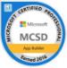 award microsoft certified professional app builder