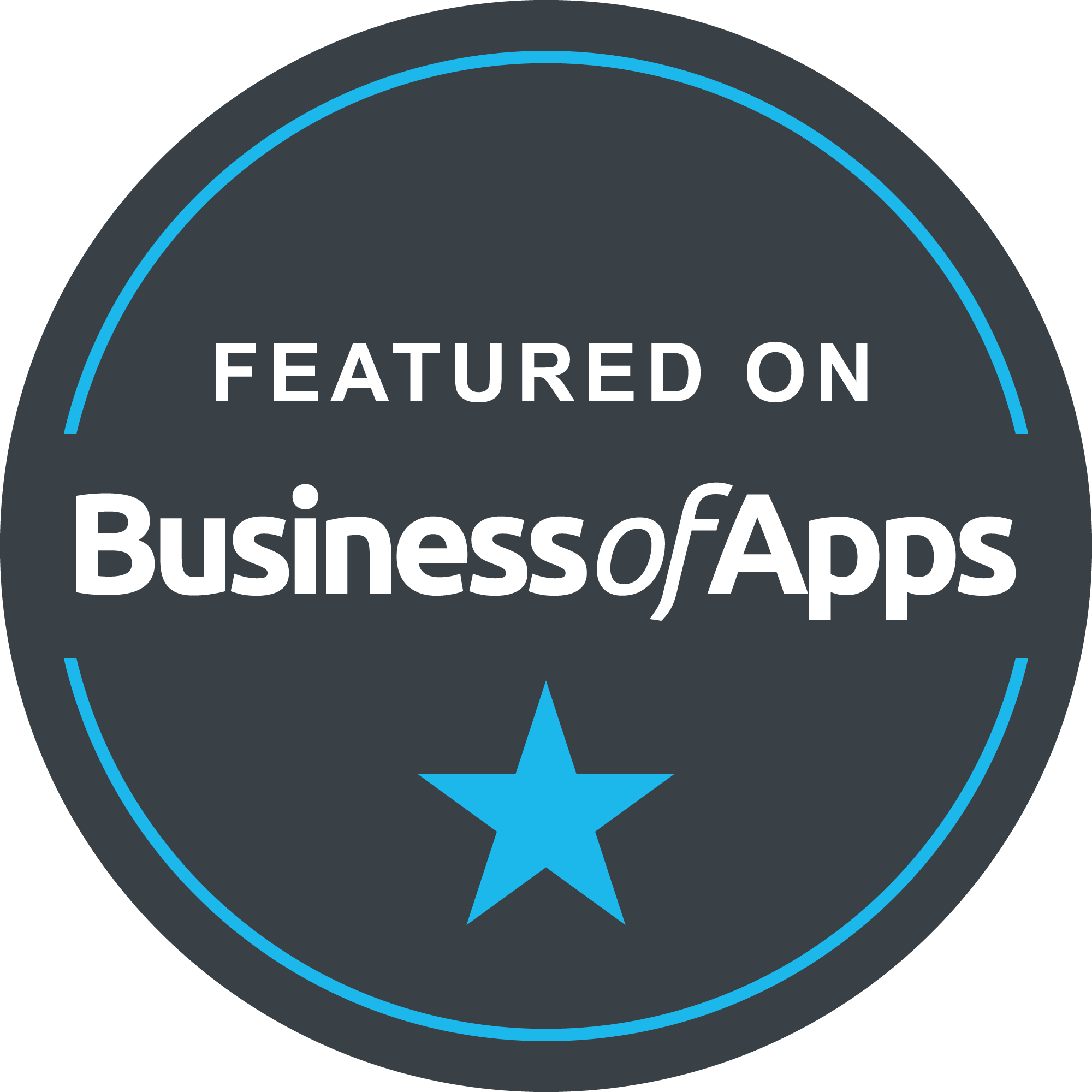 award featured on business of apps