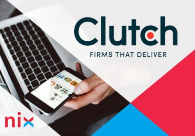The NIX company is Top custom software developer on Clutch