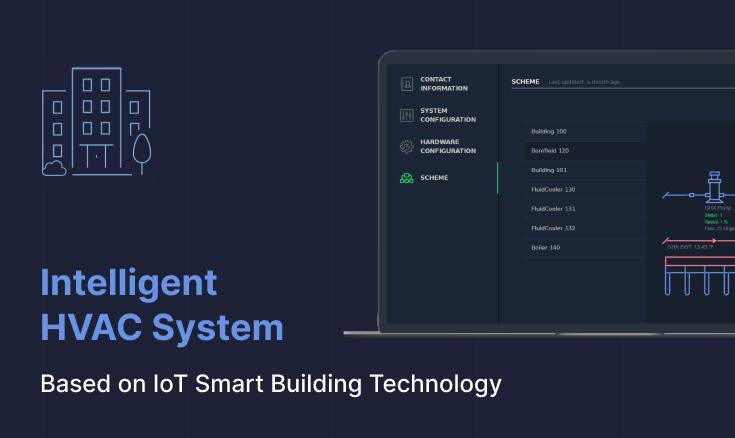 Intelligent HVAC System based on IoT Smart Building Technology