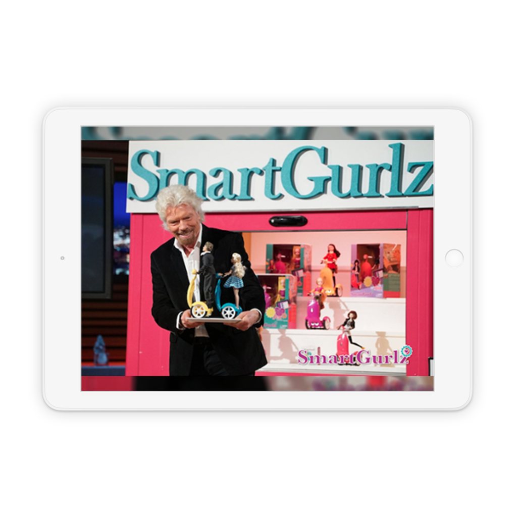 Success story - SmartGurlz: IoT-Smart toy with mobile application