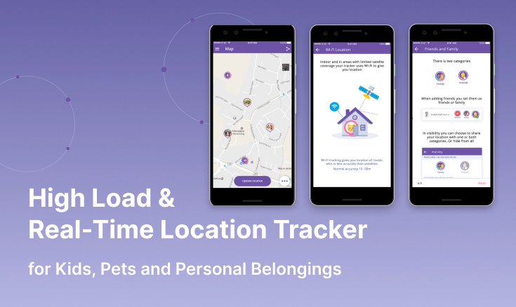 High Load & Real-time Location Tracker