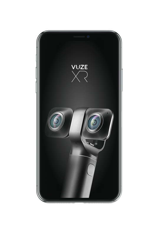 Success story - Vuze Camera,  Application for a Remote Control