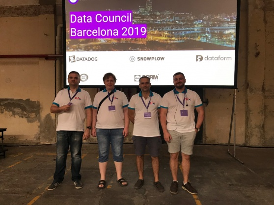 How NIX was at Data Council 2019 in Barcelona