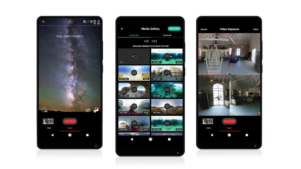 Success story - Vuze Camera, Application for a Remote Control