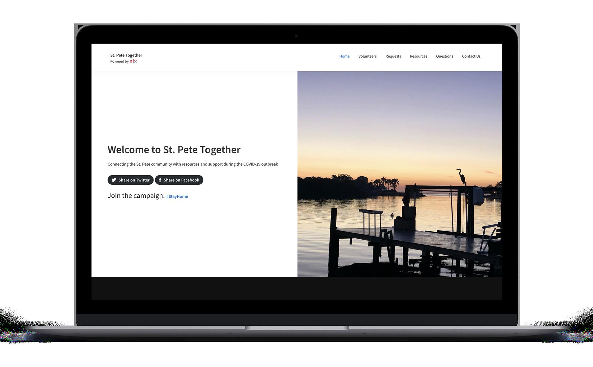 Website to Coordinate Volunteers in Florida Developed by NIX