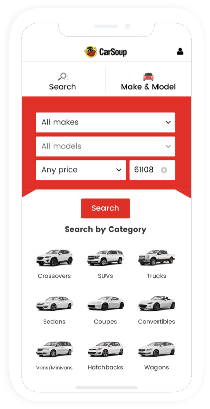 CarSoup – multifunctional car-buying service