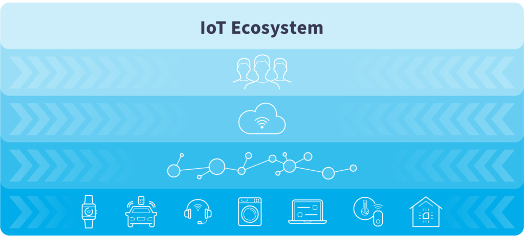 Understanding the IoT Ecosystem with constant key components for your business initiatives.