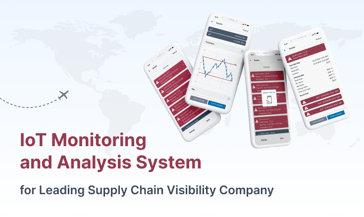 IoT Monitoring and Analysis System For Logistics Company