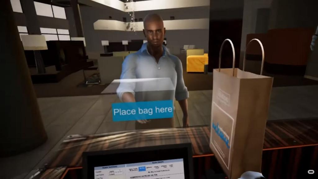 VR training solution