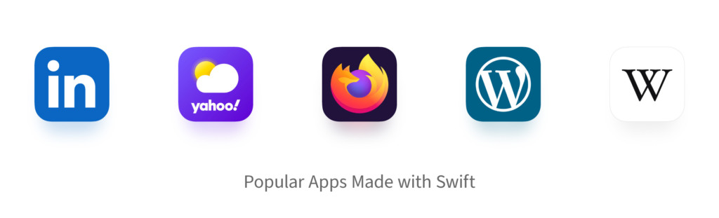 Popular apps made with Swift