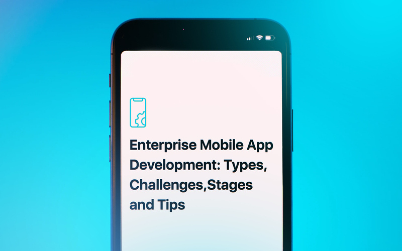 Enterprise Mobile App Development: Types, Challenges, Stages and Tips