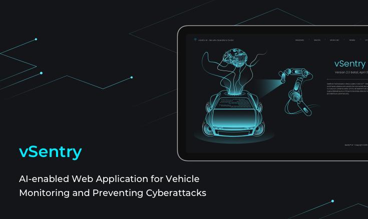 vSentry—AI Web Application for Vehicle Monitoring